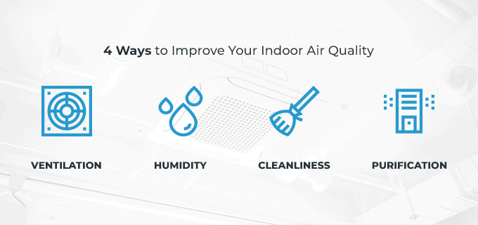 4 ways to improve your indoor air quality