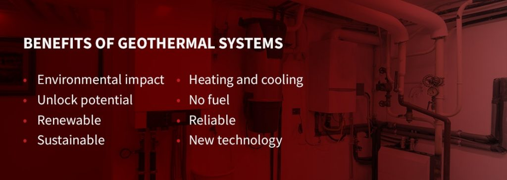 the benefits of geothermal systems