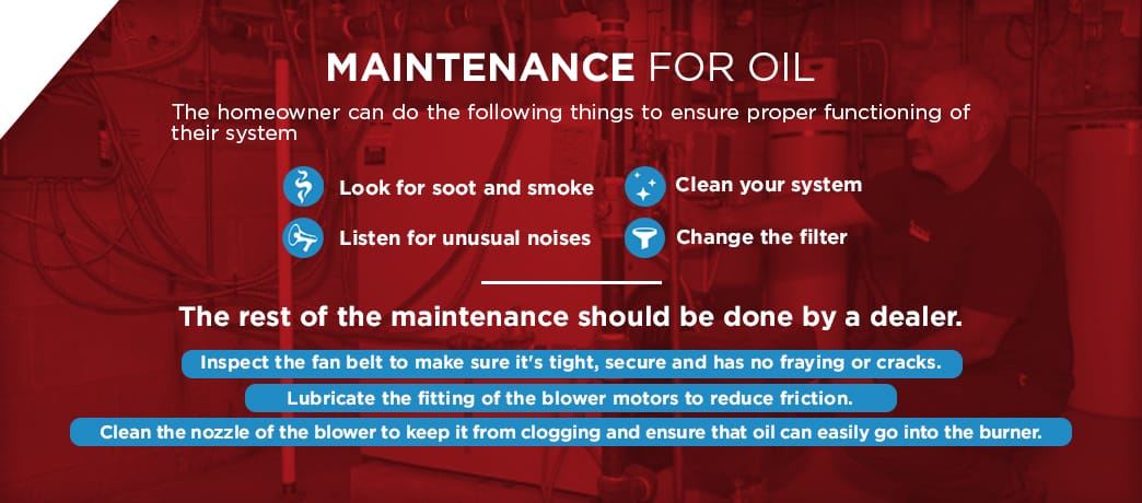 how to properly maintain your oil system