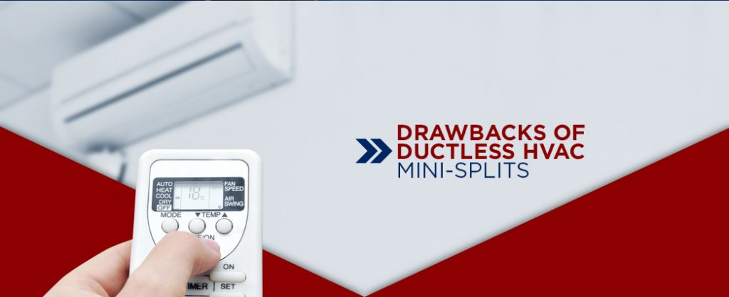 drawbacks of ductless