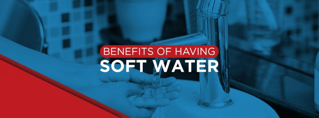 benefits of soft water banner graphic