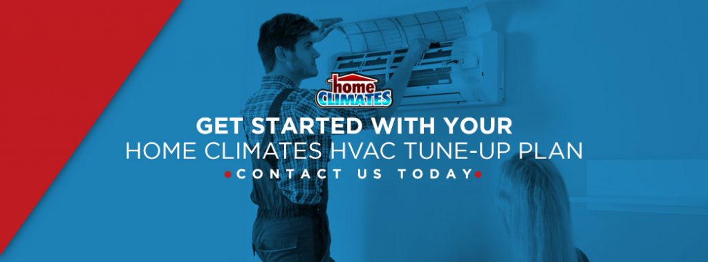 contact home climates for routine hvac service banner