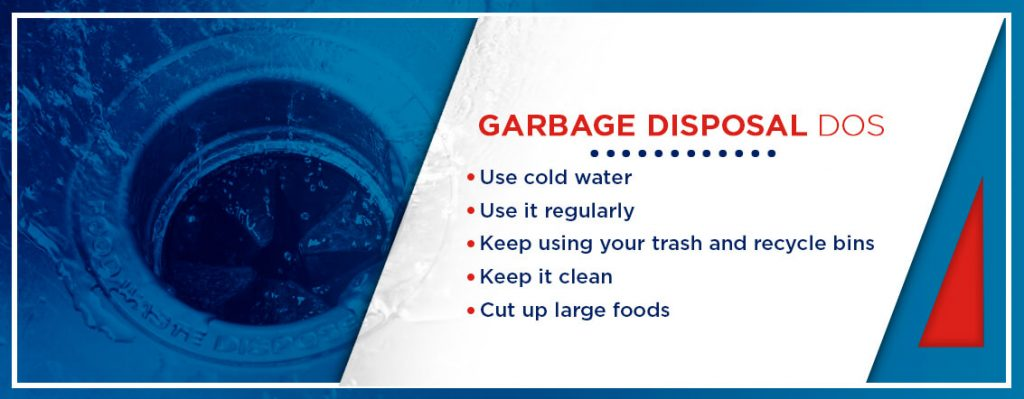 tips on how to properly use your garbage disposal