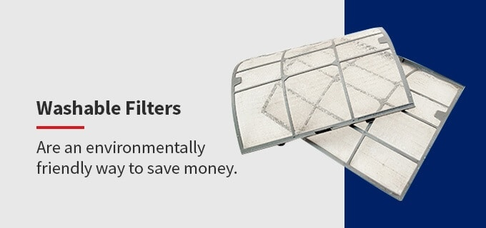 washable filters