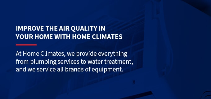 improve the indoor air quality with air filters