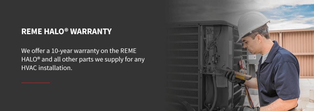 a reme halo air scrubber warranty